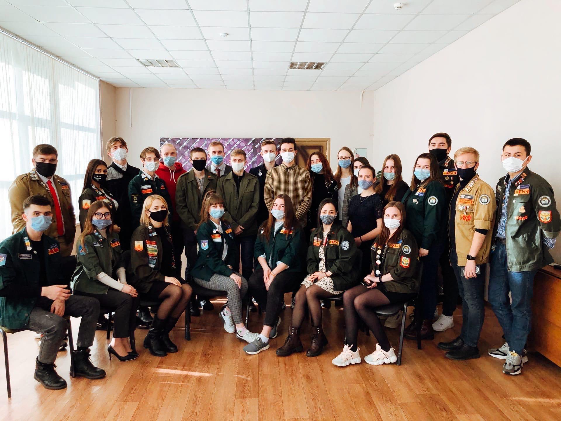 27 января состоялось ежегодная отчетная конференция местного штаба студенческих отрядов города Бузулука.