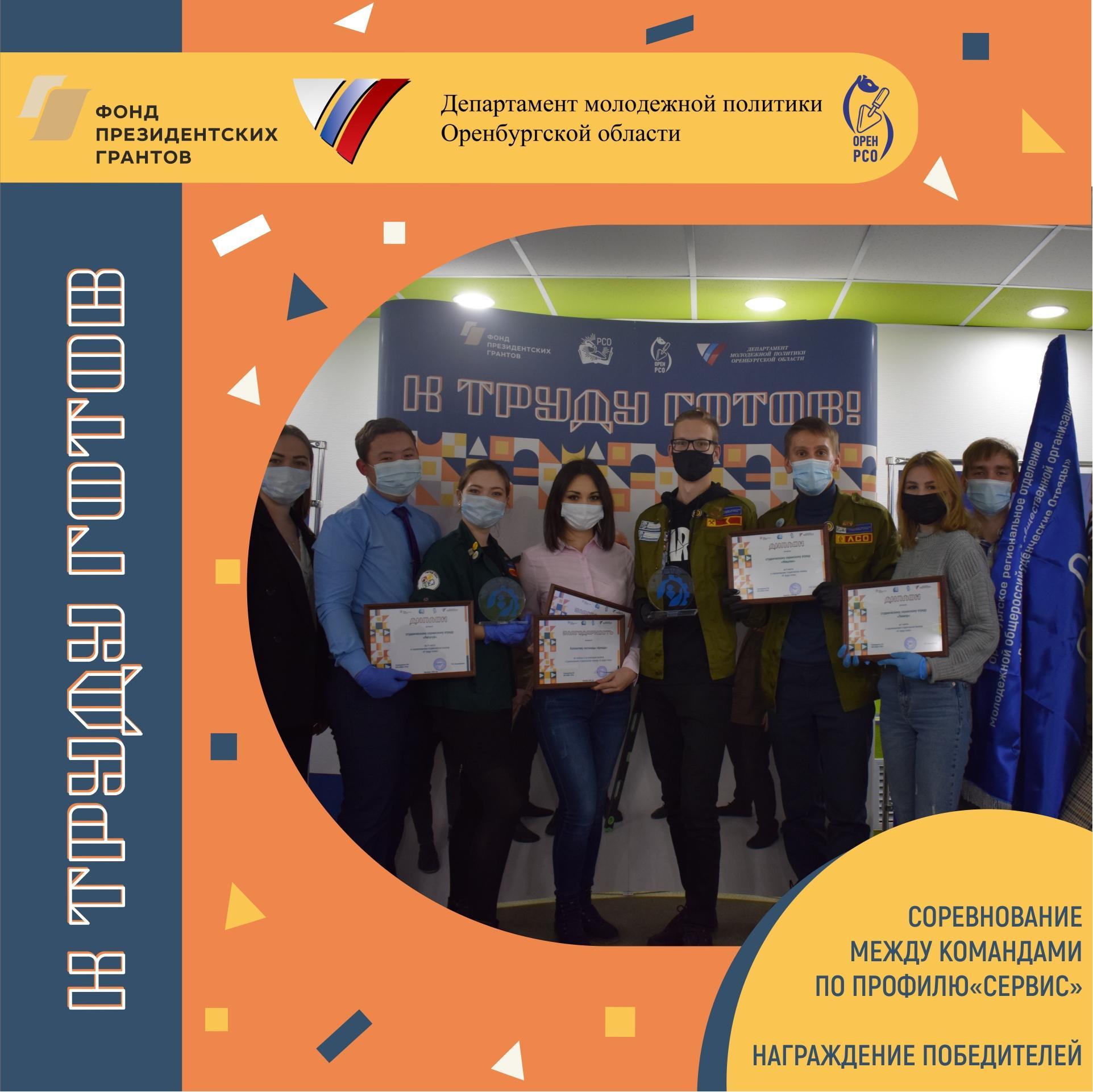 Подвели итоги соревнований студенческих команд «К труду готов» по профилю «Сервис»